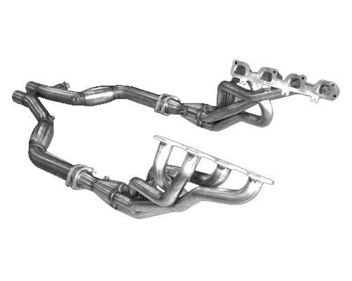 Image of American Racing 1 34 Headers w 3 Cat-less Connecting Pipes Chrysler 6.1L 5.7L Hemi 06-10