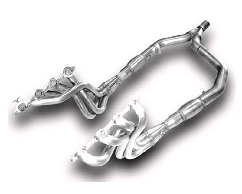 American Racing 1 3/4 x 3 Headers w/ Catted Y-Pipe Chevrolet Camaro LS1 01-02 - LS1F-01134300LSWC