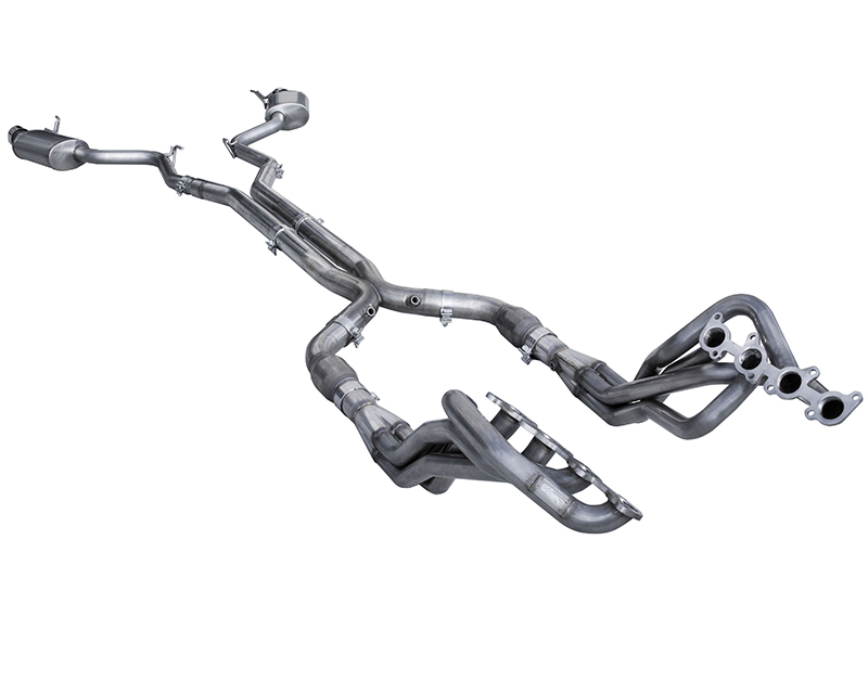 American Racing Full System 1-7/8 Inch x 3 Inch Headers 3 Inch X-Pipe with Cats Ford Mustang GT 2015 - MTC5-15178300FSWC