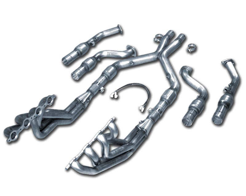 American Racing 1 7/8 x 3 Headers w/ Race Connection Pipes Pontiac GTO 6.0L 05-06 - GTO-05178300LSNC