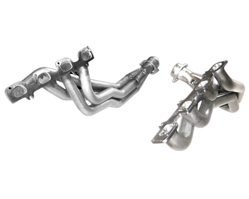 American Racing 1 7/8 Headers w/ 3 Catted Connecting Pipes Jeep Cherokee SRT-8 06-10 - JPGC-06178300LSWC