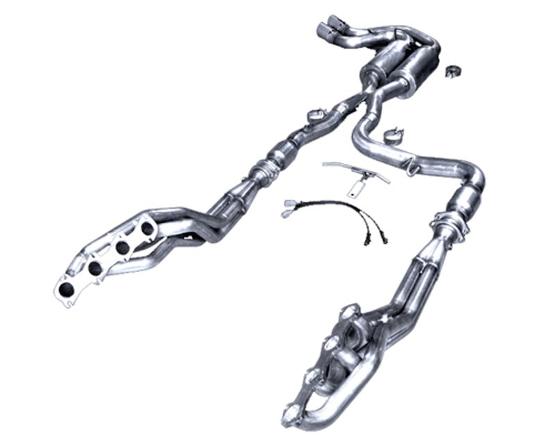 American Racing 3 Catted Exhaust System w/ 1 3/4 Primaries Ford SVT Lightning 5.4L 99-04 - LT-99134300LSWC