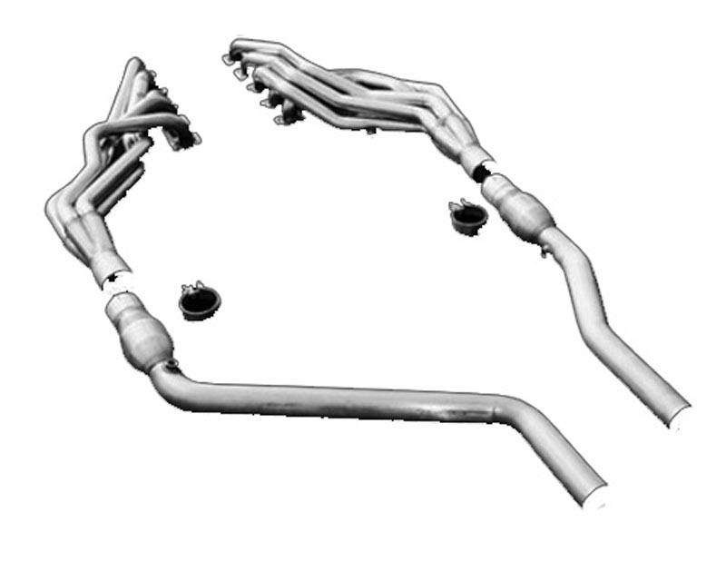 American Racing 1 3/4 x 3 Headers w/ 3 Race Connecting Pipes Dodge Ram SRT-10 04-06 - RM10-04134300LSNC
