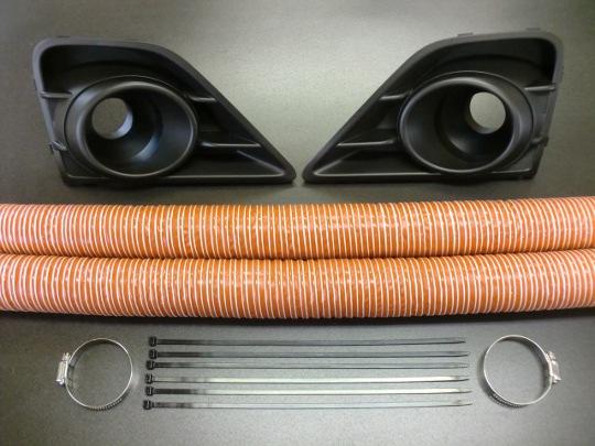 Image of Arrows Front Brake Duct Kit Type-C Rubber Duct Hose Subaru BRZ 13