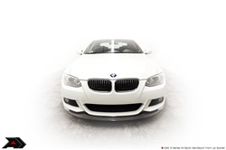 Arkym Aerosport Single Side Carbon Front Lip Pre-LCI  Coupe BMW 3- Series E92 Msport 08-13 - E92-FLS2-1CxPre