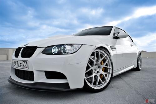 Arkym Aerosport Double Side Carbon Front Lip Spoiler Convertible BMW M3 E93 08-13 - E9X-ASP-FLS1-2Cx