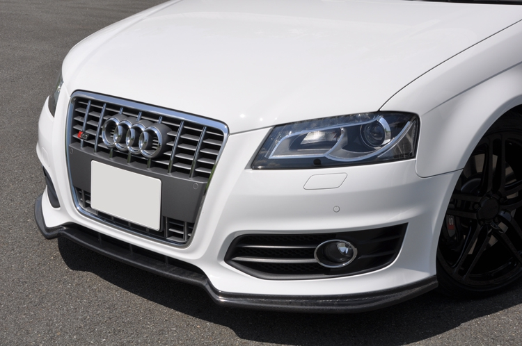 Image of AS Sport Front Lip 01 - Brand Painted Audi A3 8P 04-06