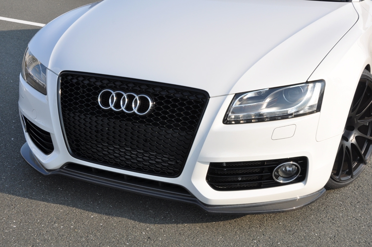 Image of AS Sport Front Lip 01 - Brand Painted Audi A5 08-13