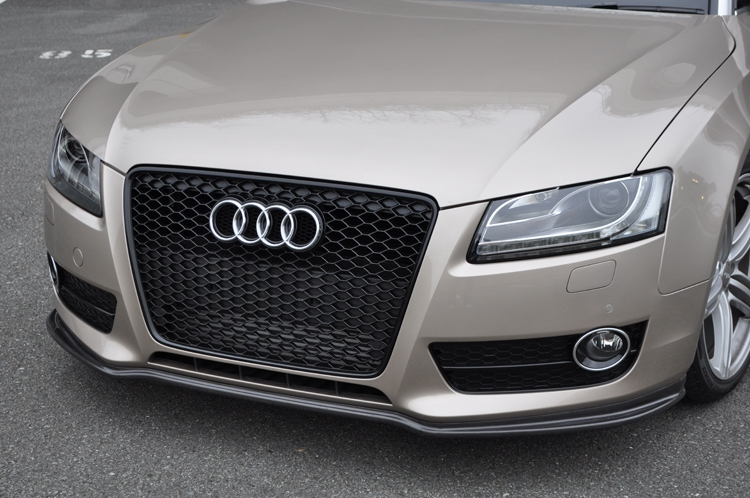 Image of AS Sport Front Lip 02 - Brand Painted Audi A5 08-13