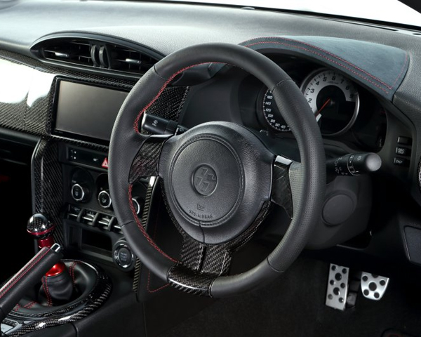 Image of ATC Sport Steering Wheel Natural Leather with Black Top Scion FR-S 13-14