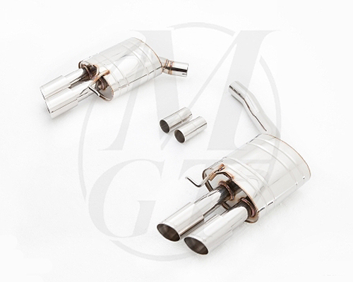 Meisterschaft Stainless GT Racing Exhaust 4x83mm Tips Audi A5 Coupe 2.0T 08-16 - AU0811204