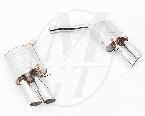 Meisterschaft Stainless GT Racing Exhaust Audi S5 Coupe 4.2L V8 08-11