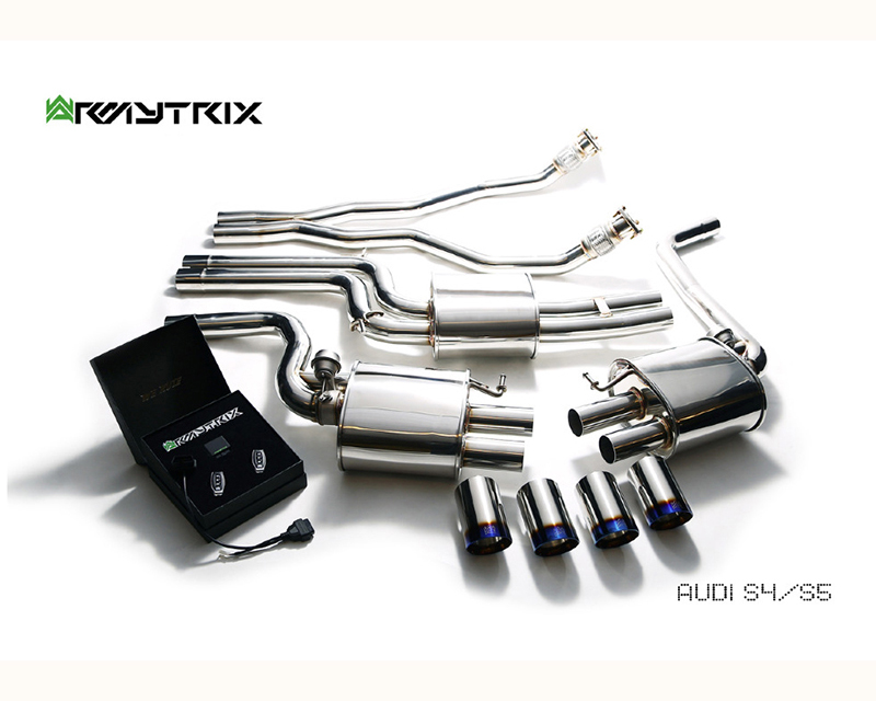 Image of Armytrix F1 Version Valvetronic Exhaust System Audi S4 V6 3.0T 09-15