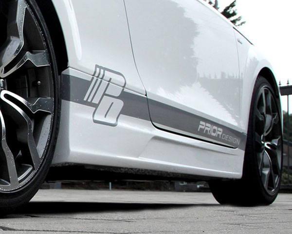 Prior Design Side Skirts Audi TT | TT Quattro MK2 8J 07-14 - 4260609890426