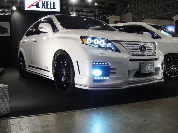 Image of Axell Auto Front Bumper Lexus RX 10-13