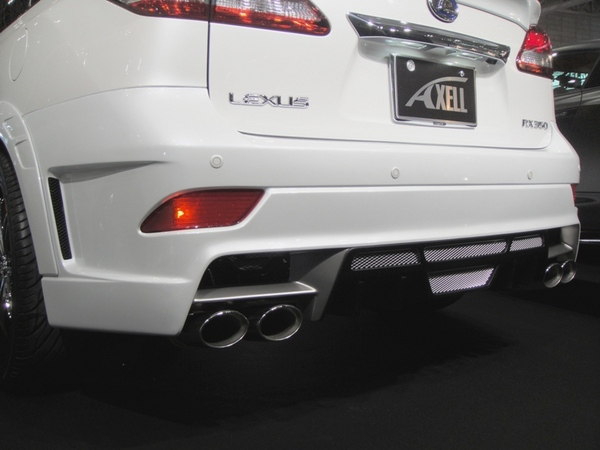 Image of Axell Auto Exhaust Kit Lexus RX 10-13