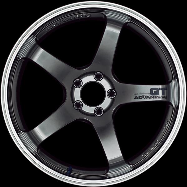 Advan GT Premium Wheel 19x10.5 5x120 35mm Machining & Racing Hyper Silver - YAQ9L35WHSP