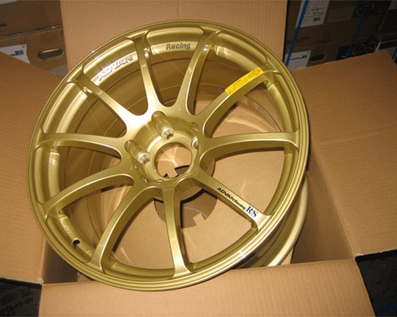 Advan RS Wheel Set 19x9 +22 19x10 +15mm Gold 5x114.3