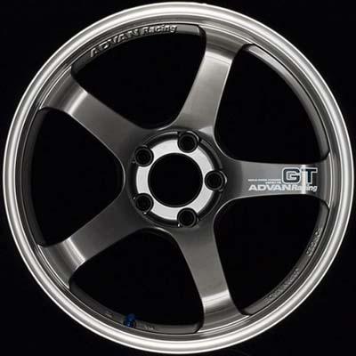 Advan GT Premium Wheel 18X8 5x114.3 45mm Machining & Racing Hyper Black - YAQ8G45EMHB