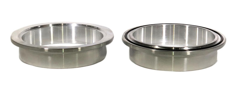 2.50 Inch Aluminum V-Band Flange Pair ETL Performance - 252103
