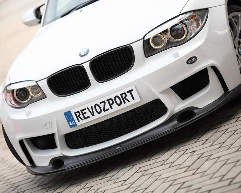 Image of RevoZport 1M Raze Front Splitter with Lower Splitter BMW 1M 11-12