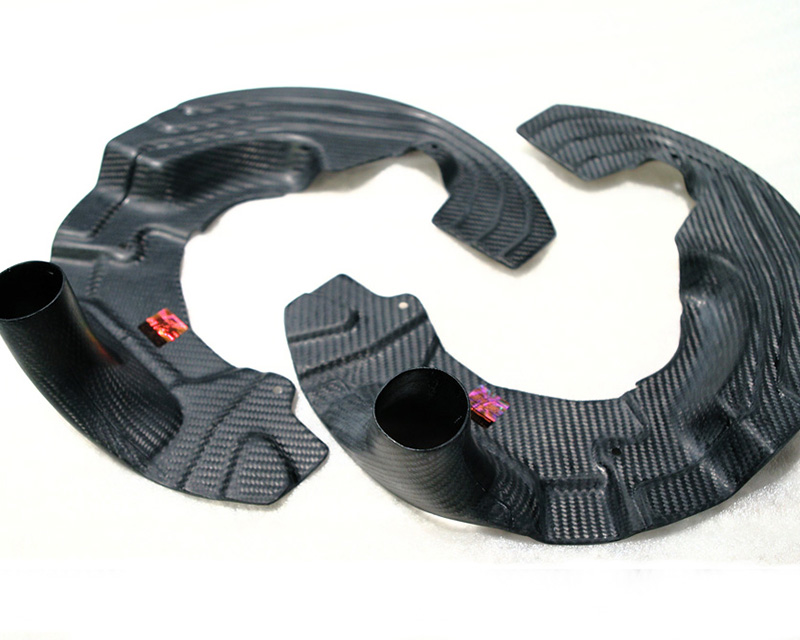 Image of RevoZport 1M Raze Front Brake Duct Kit with Hose BMW 1M 11-12