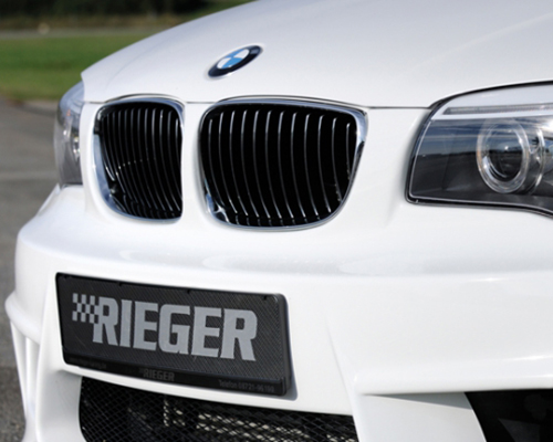 Rieger Front Grill after facelift RH ( Chrome/Black) BMW E82/88 11-13 - B303397
