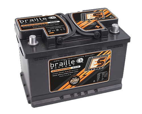 Image of Braille Endurance Advanced AGM Battery 2390 Amp 11 x 7 x 8 inch Right Positive