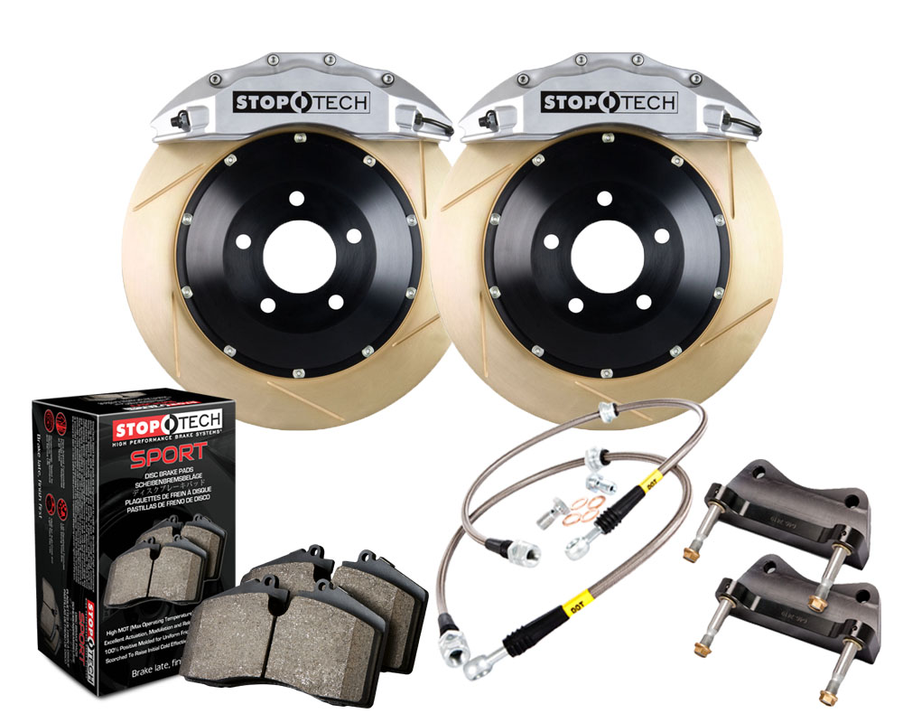 StopTech Big Brake Kit 2 Piece Rotor; Front Front - 83.188.6D00.63