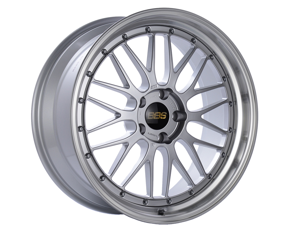BBS LM Wheel 18x9 5x130 50mm Diamond Silver | Diamond Cut Rim LM130DSPK - LM130DSPK
