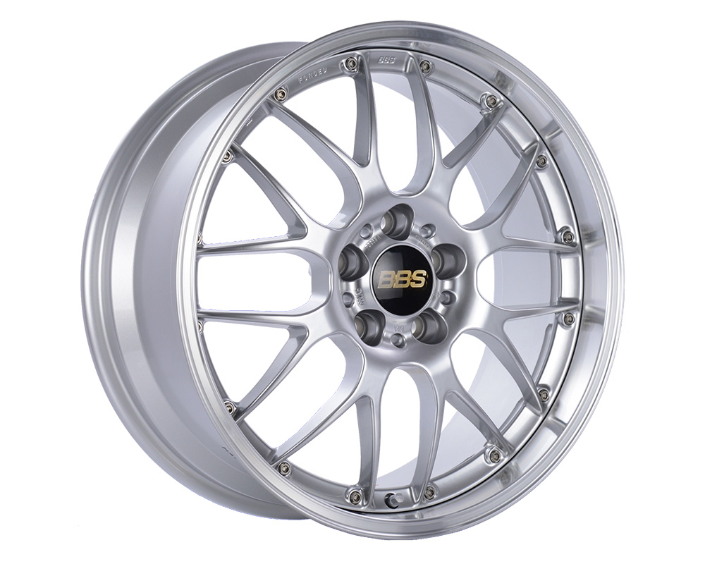 BBS RS-GT Wheel 19x9.5 5x112 38mm Diamond Silver | Diamond Cut Rim - RS924HDSPK