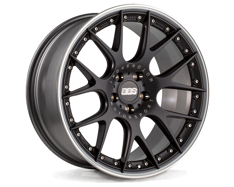 Image of BBS CH-R II Wheels Satin Black 21 x 10.5 5x112 17mm