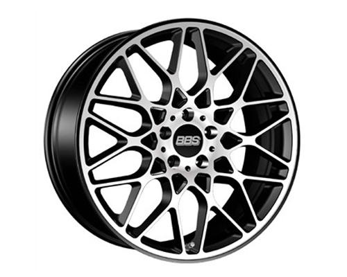 Image of BBS RX-R Black Polished Face Wheel 19x10 5x112 42mm