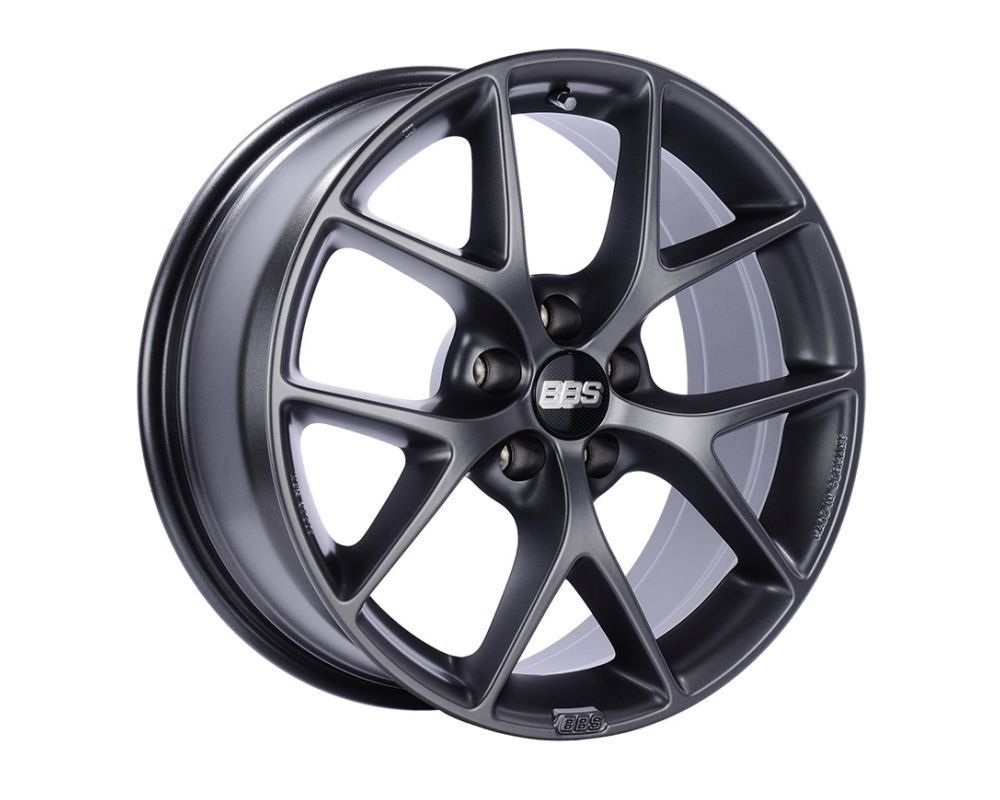 BBS SR Wheel 18x8 5x100 36mm Satin Grey SR042SG - SR042SG
