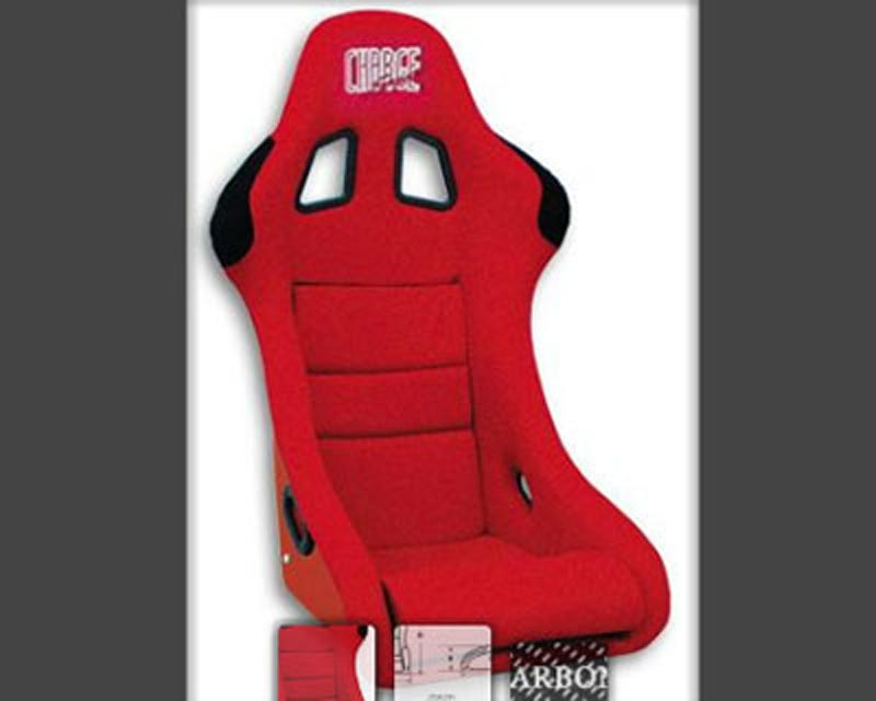 ChargeSpeed Racing Seat Shark Type Carbon Red (Japanese CFRP) - BC-HC02