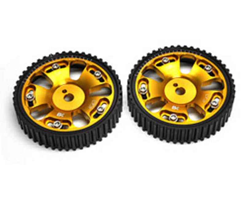 Brian Crower Adjustable Cam Gears w/ARP Fastener Bolts Mitsubishi Evo VIII - Pair 03-05 - BC8810