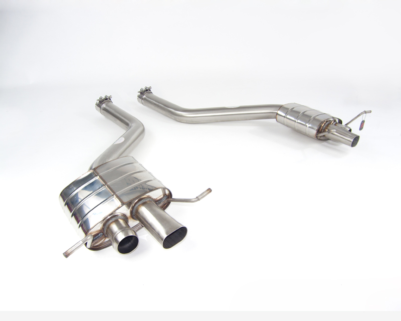 Quicksilver Sport Stainless Steel Rear Section Bentley Continental GT | GTC V8 | V8S  12-19 - BE888S