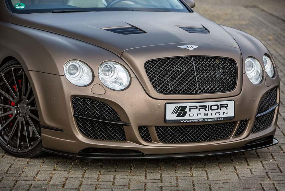Prior Design PD Vented Hood Bentley Continental GT | GTC 04-11 - 4260609890525