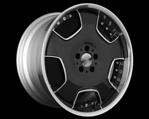 Image of Black Fleet F2B Wheel 20x10.5 5x114.3 11mm