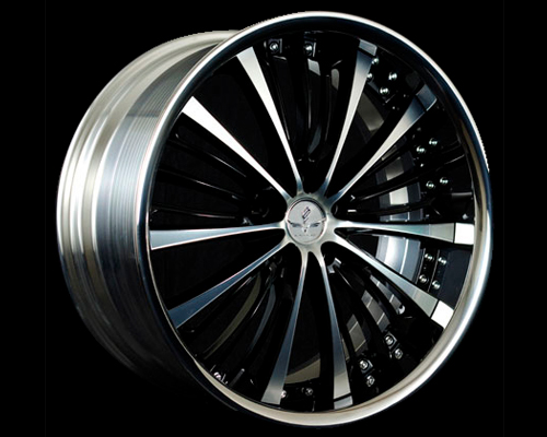 Image of Black Fleet V350 Wheel 20X9.5 5x114.3