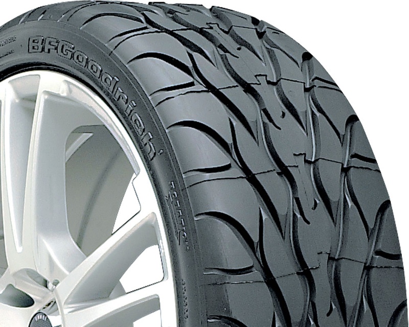 BFGoodrich G-Force T/A KDW NT Tires 205/50/17 93Z BSW