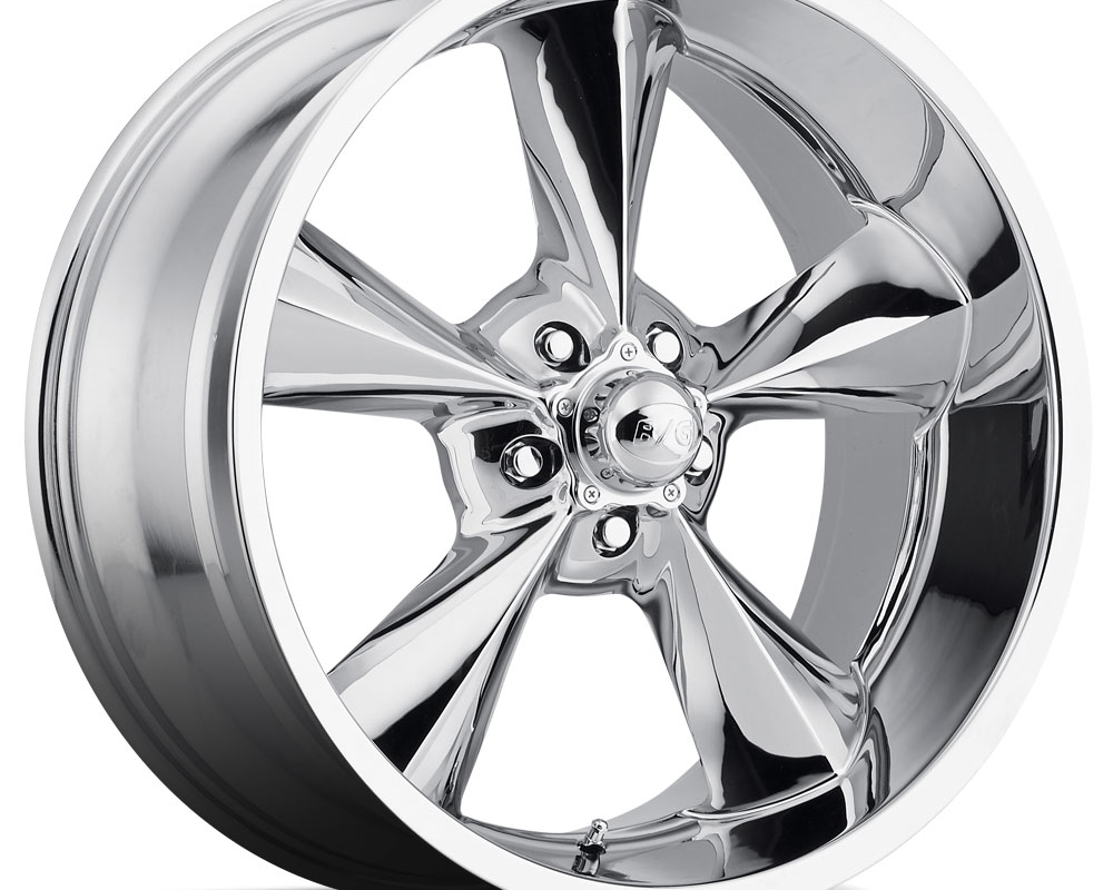 B/G Rod Works Wheels Old School Wheel 17x8 5x120.65 0mm Chrome - OS 780-5475-00 C
