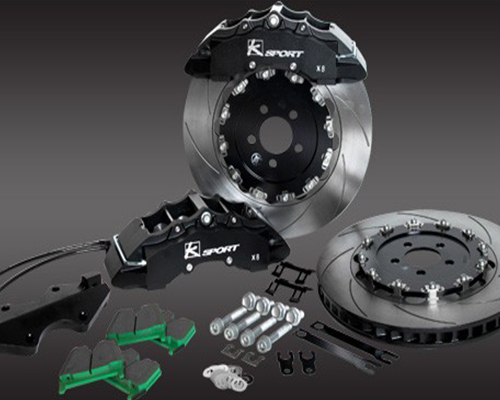 Ksport SuperComp Front 8 Piston 16.5 Inch Big Brake Kit Mercedes Benz SLK 12-13