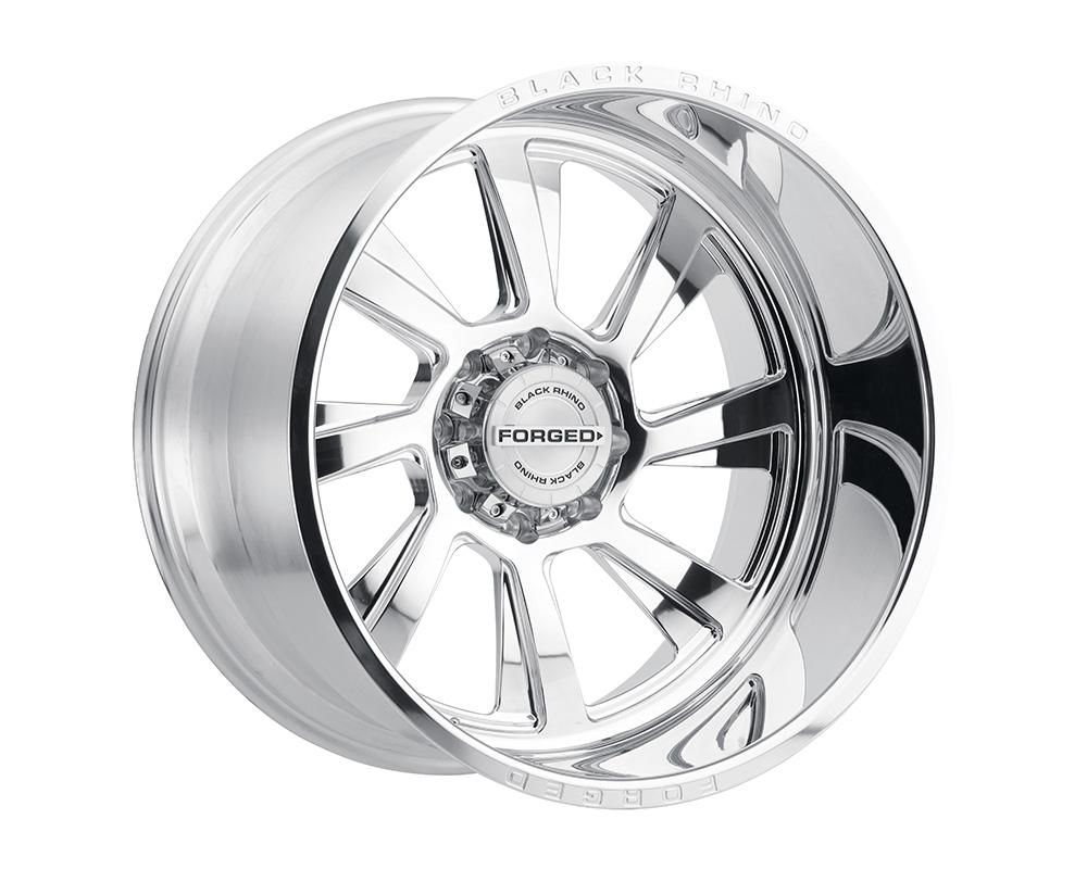 Black Rhino Blaster Wheel 22x14 6x139.7 -76mm Polished Left - 2214BLR-66140P12L