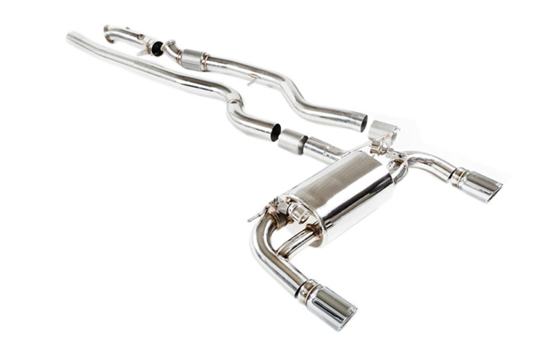IPE Stainless Steel Valvetronic Exhaust System with Dual Polished Tips and Remote BMW 335i E90 | E92 05-11 - BM009