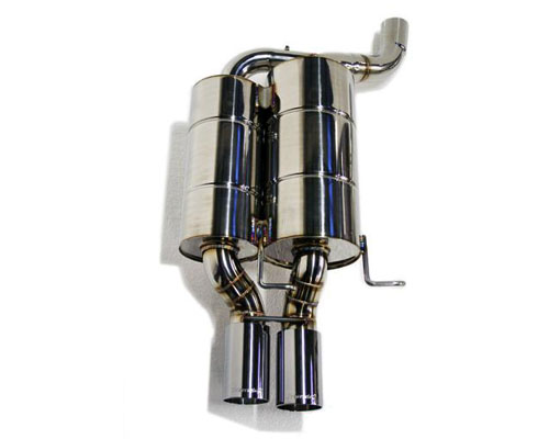 Meisterschaft Titanium GT Racing Axle Back Muffler BMW 525 | 530i Sedan | Wagon Normal Valence 01-03 - BM0722222