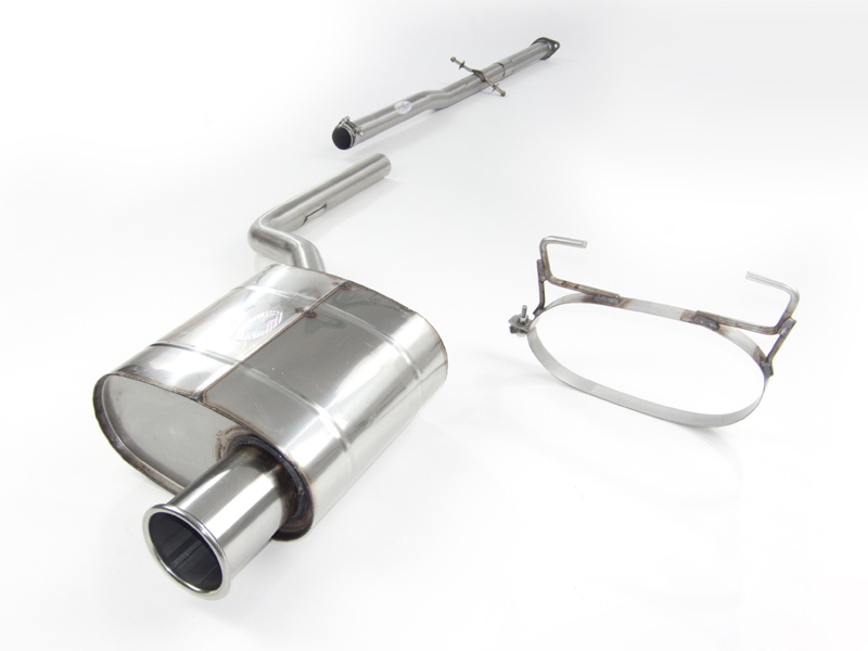Quicksilver Sport Stainless Steel Exhaust System Mini One | Cooper R50 01-06 - BM130S