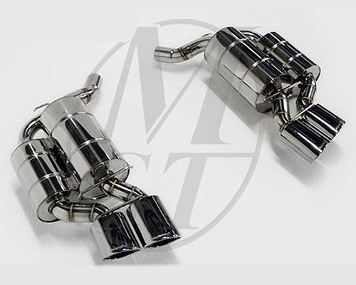 Meisterschaft Stainless GTS Axle Back Muffler 4x120x80mm Tips BMW 645Ci/650Ci Coupe / Convertible 04-10 - BM1311518