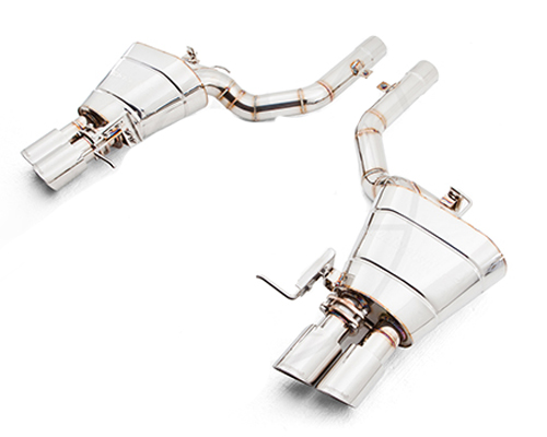 Meisterschaft Stainless GTS Ultimate Catback Exhaust 4x90mm Tips BMW 640i Coupe | Convertible 12-15 - BM1511505