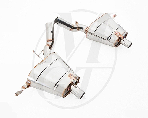 Meisterschaft Stainless GT Racing Axle Back Muffler BMW Z8 Roadster 00-03